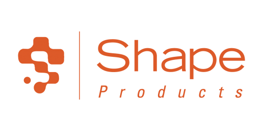 Shape Products Logo in orange