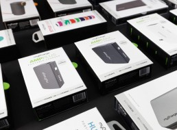 Powerbank packaging design and graphics